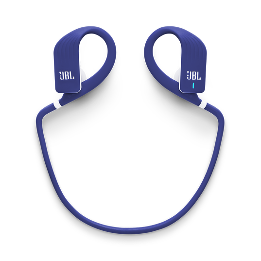 JBL Endurance JUMP - Blue - Waterproof Wireless Sport In-Ear Headphones - Detailshot 2