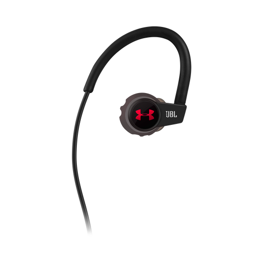 Under Armour Sport Wireless Heart Rate - Black - Heart rate monitoring, wireless in-ear headphones for athletes - Front