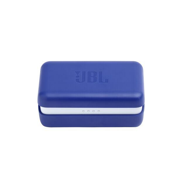 JBL Endurance PEAK - Blue - Waterproof True Wireless In-Ear Sport Headphones - Detailshot 5