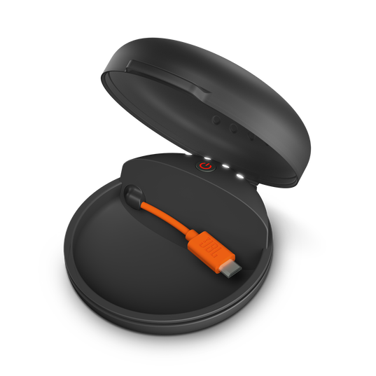 JBL Focus 700 - Black - In-Ear Wireless Sport Headphones with charging case - Detailshot 3