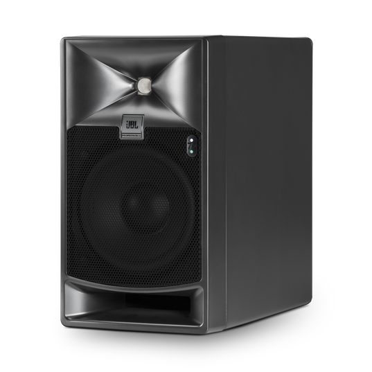 "JBL 705P - Black - 5"" Bi-Amplified Master Reference Monitor - Hero"