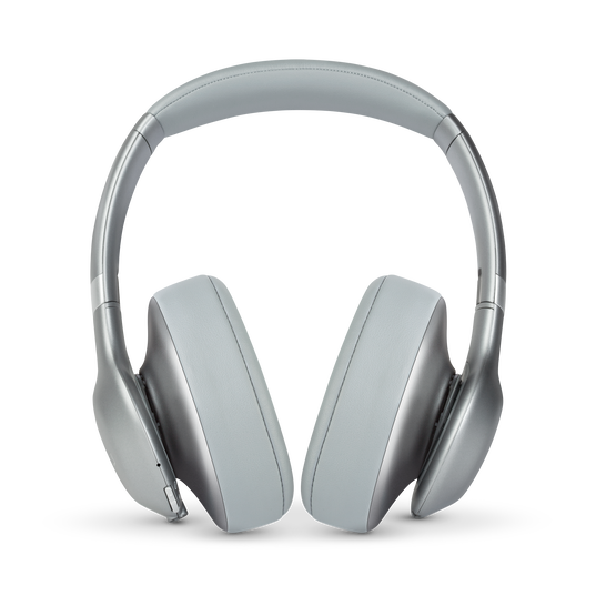JBL EVEREST™ 710 - Silver - Wireless Over-ear headphones - Front
