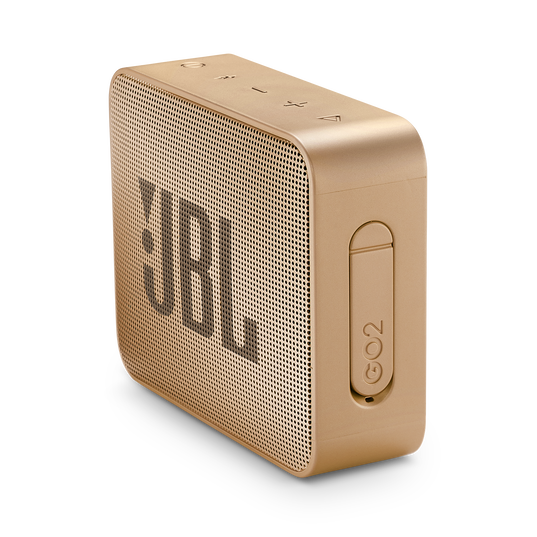 JBL GO 2 - Champagne - Portable Bluetooth speaker - Detailshot 2