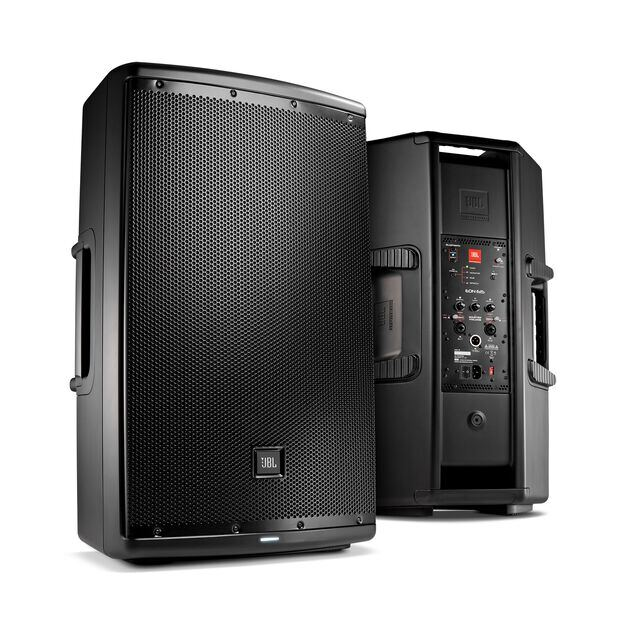 "JBL EON615 - Black - 15"" (38 cm) Two-Way Multipurpose Self-Powered Sound Reinforcement - Hero"