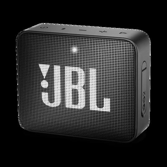 JBL GO 2 - Black - Portable Bluetooth speaker - Hero