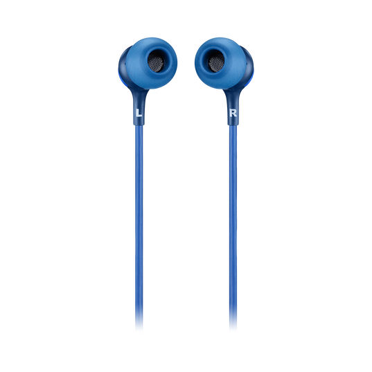 JBL LIVE 100 - Blue - In-ear headphones - Back