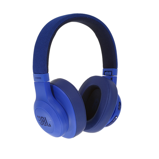JBL E55BT - Blue - Wireless over-ear headphones - Detailshot 15