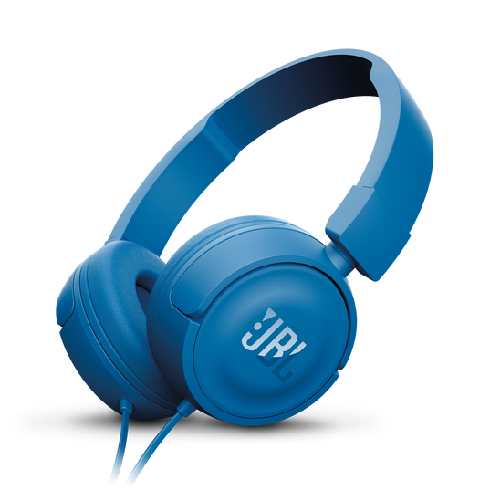 JBL T450 - Blue - On-ear headphones - Hero