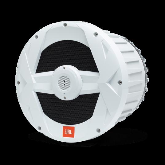 "JBL Marine BassPro 10-inch Powered Subwoofer - White Gloss - MBP10—10"" (250mm) Marine Audio 250W Powered Subwoofer System - Detailshot 1"