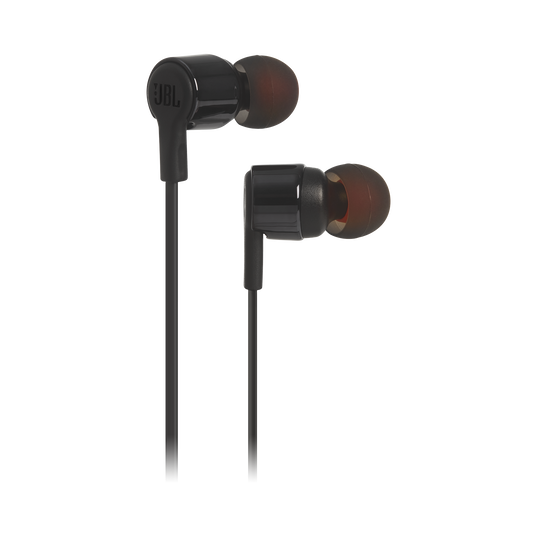 JBL TUNE 210 - Black - In-ear headphones - Hero