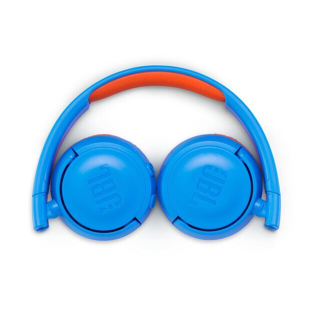 JBL JR300BT - Rocker Blue - Kids Wireless on-ear headphones - Detailshot 3