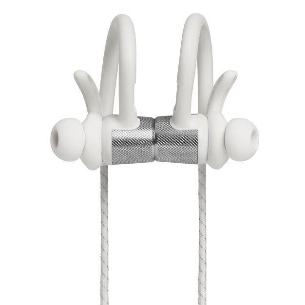 UA Sport Wireless PIVOT - White - Secure-fitting wireless sport earphones with JBL technology and sound - Detailshot 1