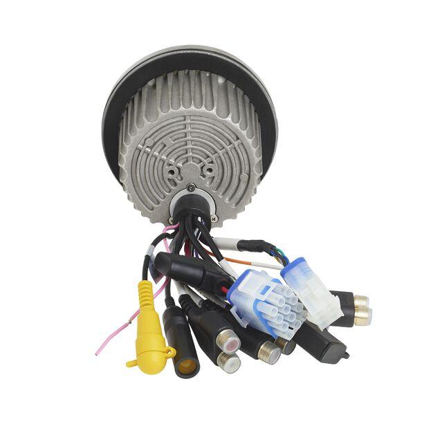 JBLPRV275 - Black - JBLPRV275 Gauge Style Receiver - Back