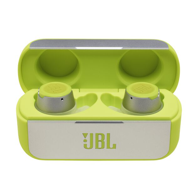 JBL REFLECT FLOW - Green - True wireless sport headphones. - Detailshot 3