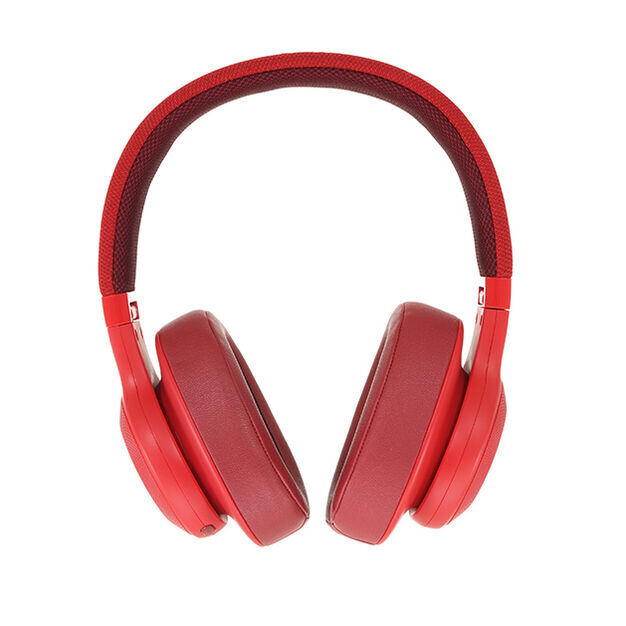 JBL E55BT - Red - Wireless over-ear headphones - Detailshot 15