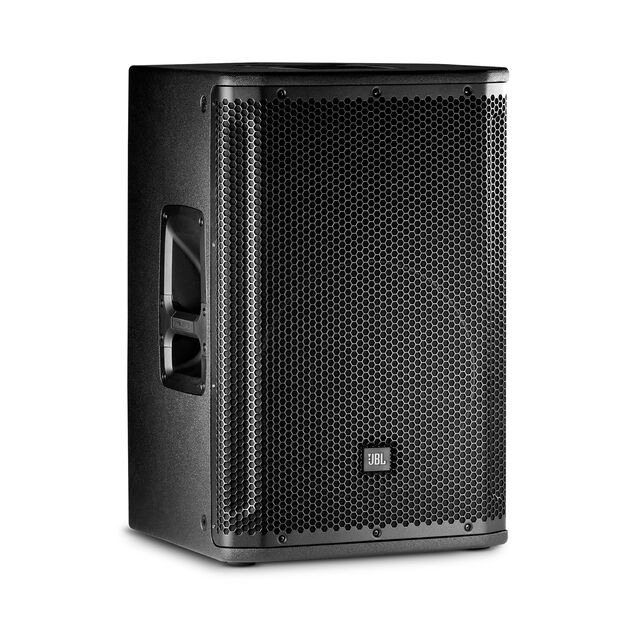 "JBL SRX812P - Black - 12"" Two-Way Bass Reflex Self-Powered System - Hero"