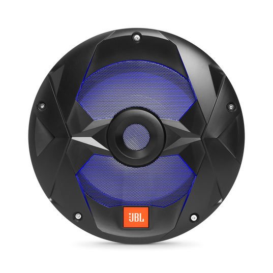 "Club Marine MS10LB - Black Matte - Club Marine MS10LB—10"" (250mm) marine audio multi-element subwoofer with RGB lighting – Black - Detailshot 4"