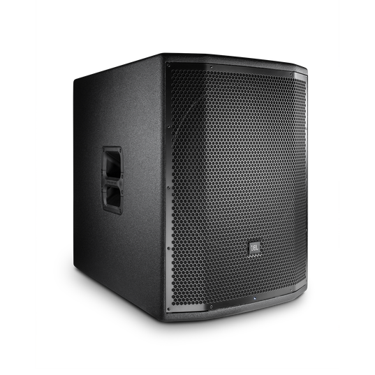 """JBL PRX818XLF - Black - 18"""" Self-Powered Extended Low Frequency Subwoofer System with Wi-Fi - Hero"""