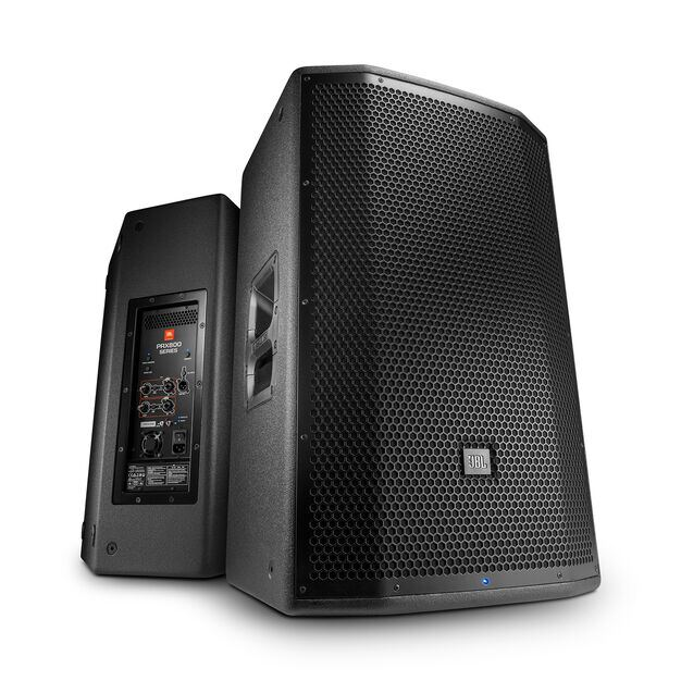 "JBL PRX815 - Black - 15"" Two-Way Full-Range Main System/Floor Monitor with Wi-Fi - Detailshot 4"