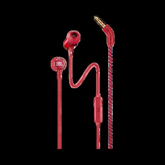 JBL LIVE 100 - Red - In-ear headphones - Hero