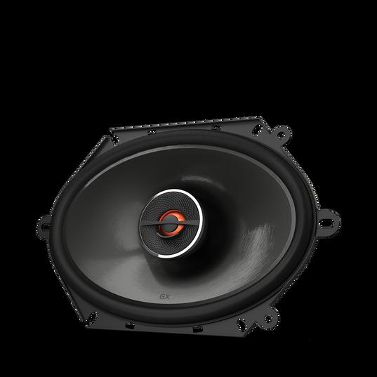 "GX862 - Black - 5"" x 7"" / 6"" x 8"" coaxial car audio loudspeaker, 180W - Hero"