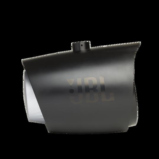 "JBL Tower X Marine MT8HLB - Black Gloss - 8"" (200mm) enclosed two-way marine audio tower speaker with 1"" (25mm) horn loaded compression tweeter – Black - Detailshot 1"