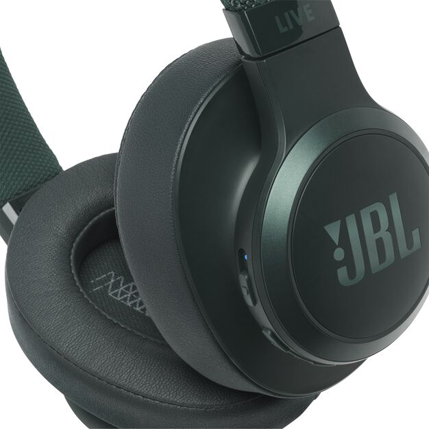 JBL LIVE 500BT - Green - Your Sound, Unplugged - Detailshot 3
