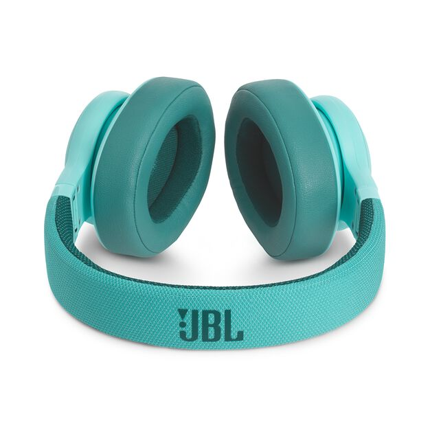 JBL E55BT - Teal - Wireless over-ear headphones - Detailshot 3