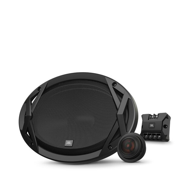 "Club 9600c - Black - 6""x9"" (152mm x 230mm) component speaker system - Hero"