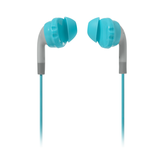 JBL Inspire 100 Women - Teal - In-ear, sport headphones with Twistlock™ Technology specifically made for women. - Detailshot 2