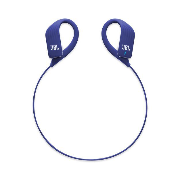 JBL Endurance SPRINT - Blue - Waterproof Wireless In-Ear Sport Headphones - Detailshot 2