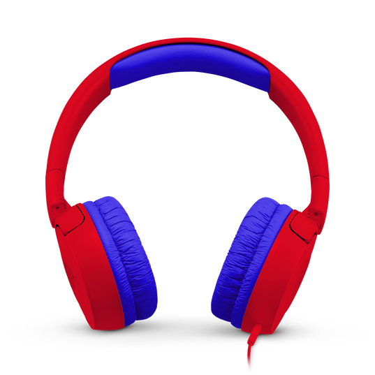JBL JR300 - Red - Kids on-ear Headphones - Front