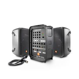 JBL EON208P - Black - Portable 8 inch 2-Way PA with Powered 8-Channel Mixer and Bluetooth® - Hero