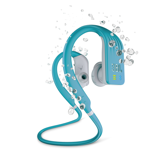 JBL Endurance DIVE - Teal - Waterproof Wireless In-Ear Sport Headphones with MP3 Player - Hero