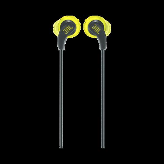 JBL Endurance RUN - Yellow - Sweatproof Wired Sport In-Ear Headphones - Front