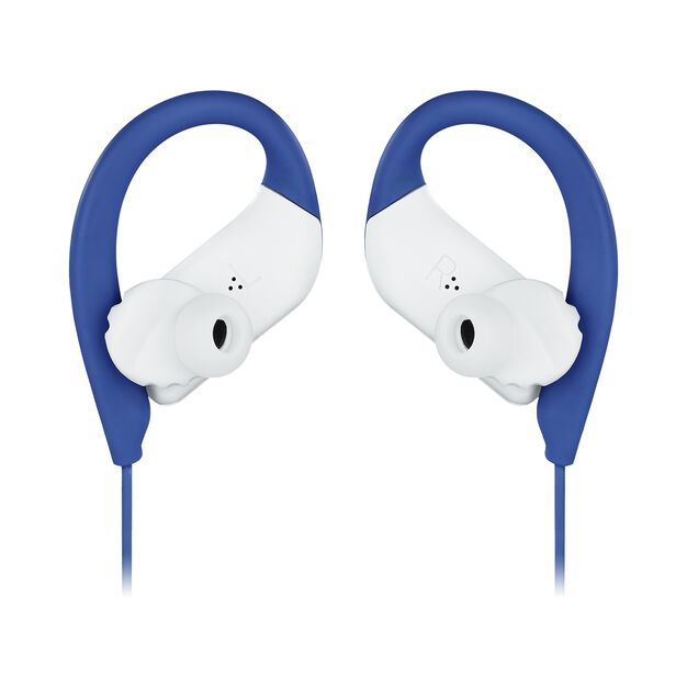 JBL Endurance SPRINT - Blue - Waterproof Wireless In-Ear Sport Headphones - Detailshot 3