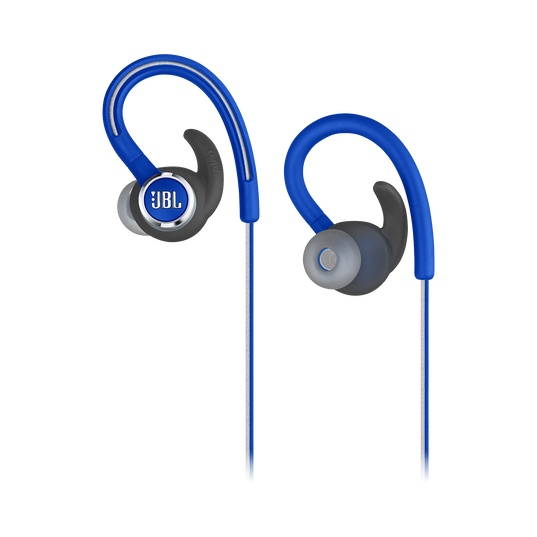 JBL Reflect Contour 2 - Blue - Secure fit Wireless Sport Headphones - Detailshot 2