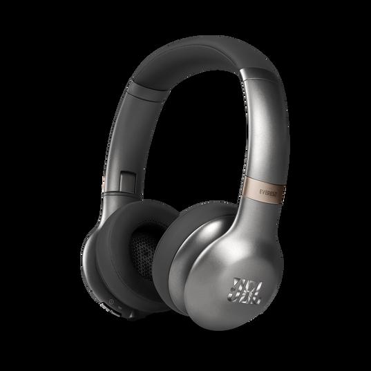 JBL EVEREST™ 310 - Gun Metal - Wireless On-ear headphones - Hero