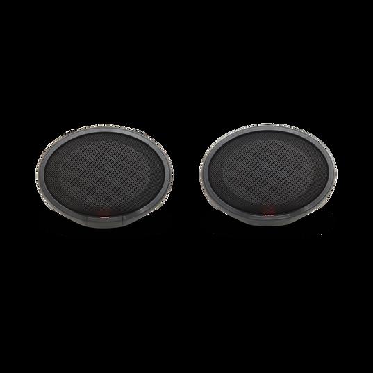 Cruise - Black - Handlebar Mounted Bluetooth Audio System - Front