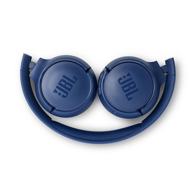 JBL TUNE 500BT - Blue - Wireless on-ear headphones - Detailshot 3