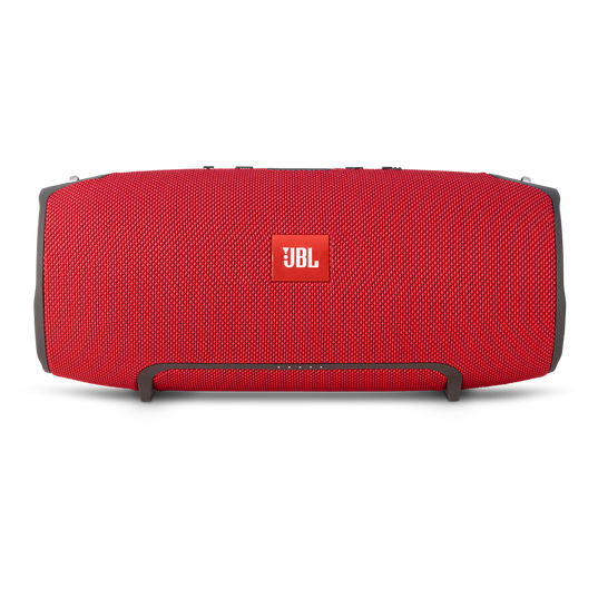 JBL Xtreme - Red - Splashproof portable speaker with ultra-powerful performance - Front