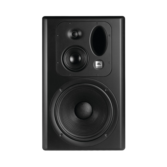 JBL LSR6332 (Right Side) - Black - Linear Spatial Reference Studio Monitor System - Hero
