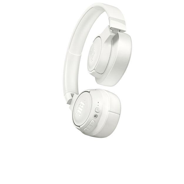 JBL TUNE 700BT - White - Wireless Over-Ear Headphones - Detailshot 1