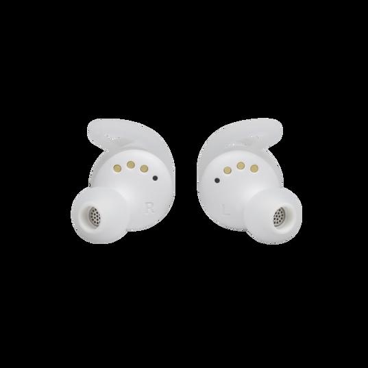 UA True Wireless Streak - White - Ultra-compact In-Ear Sport Headphones - Detailshot 1