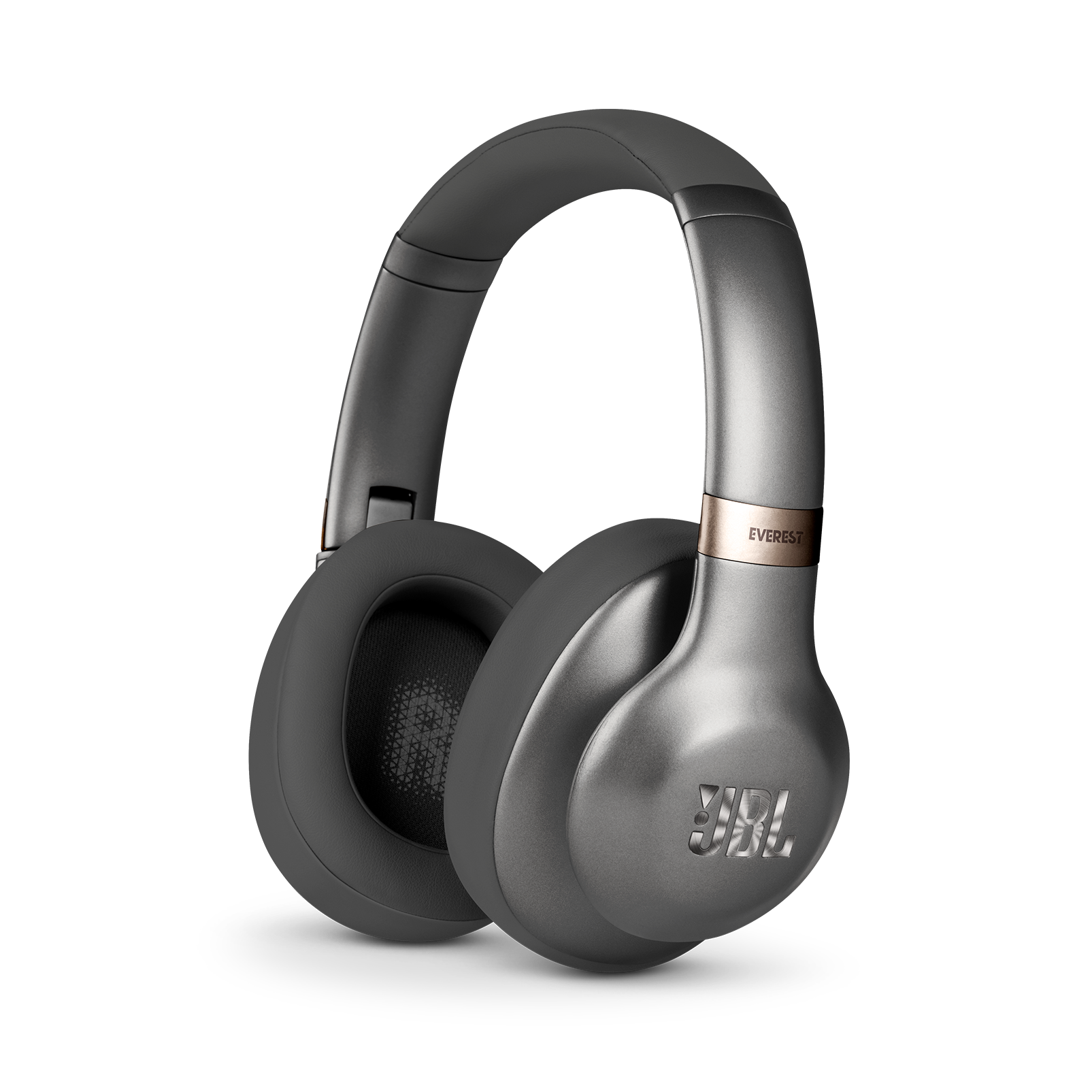 JBL EVEREST™ 710 - Gun Metal - Wireless Over-ear headphones - Hero