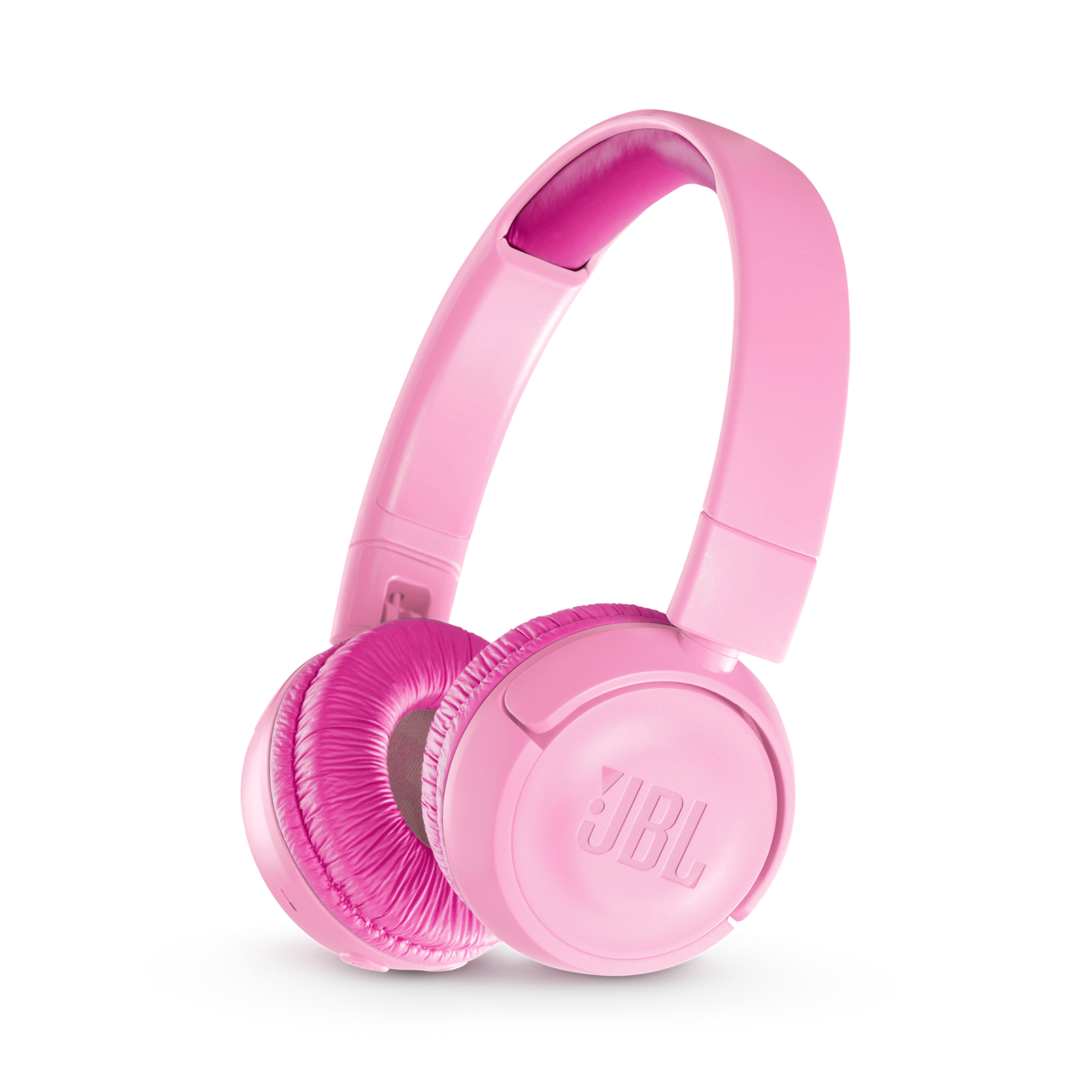 JBL JR300BT - Pink - Kids Wireless on-ear headphones - Hero